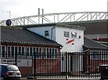 TQ0057 : Woking Football Club - The Cardinals Bar by P L Chadwick