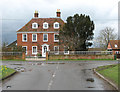 TM1681 : Manor House, Dickleburgh by Evelyn Simak