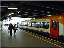 TQ3179 : London : Lambeth - Waterloo Railway Station by Lewis Clarke