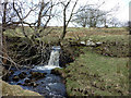 NY8414 : Waterfall, Dowgill Beck by Karl and Ali