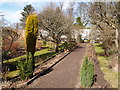 NZ2334 : Walled Garden at Whitworth Hall by Clive Nicholson