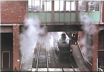 SD8010 : Steam at Bury Station on the East Lancashire Railway by nick macneill