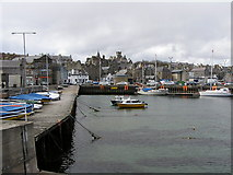 HU4741 : Small Boat Harbour, Lerwick by Robbie