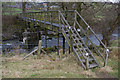 SD6294 : Footbridge over River Lune by Ian Taylor
