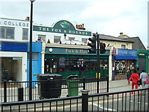 TQ4085 : The Fox and Hounds public house, Forest Gate by Stacey Harris