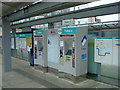 TQ3781 : Ticket machines at Langdon Park DLR station by Stacey Harris