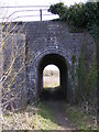 TM3977 : Footpath under the Railway by Adrian Cable
