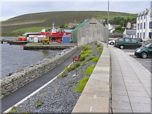 HU4039 : Waterfront at Main Street Scalloway by Robbie