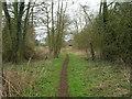 SE8148 : Path on former railway near Pocklington by JThomas