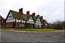 SJ3384 : Part timbered house in Bridge Street by Steve Daniels