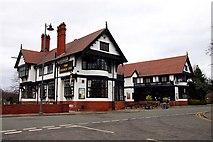 SJ3384 : The Bridge Inn on Bolton Road by Steve Daniels
