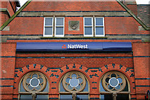 SK5319 : Gable detail Loughborough NatWest by David Lally