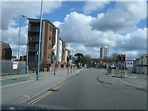 SU4212 : Northam Road, Southampton by Alex McGregor