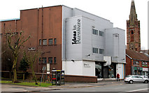 "J3371 : Former ""Majestic"" cinema, Belfast by Albert Bridge"