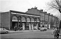 TQ2785 : Belsize Park Underground Station entrance by Ben Brooksbank