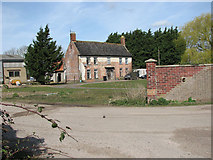 TM2493 : Villa Farm in Alburgh Road, Hempnall Green by Evelyn Simak