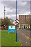 TQ4179 : Speed limit sign, Unity Way by Ian Capper