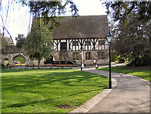 SE5952 : The Pilgrims' Hospitium, Yorkshire Museum Gardens by David Dixon