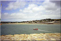 SW5130 : St Michael's Mount ferry back to Marazion by John Rostron