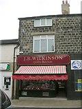 SE2041 : J B Wilkinson Butchers - High Street by Betty Longbottom