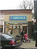 SE2041 : Greggs - High Street by Betty Longbottom