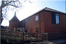 TR1439 : The Oast, Old Page Farm, The Street, Postling, Kent by Oast House Archive