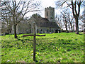 TG1208 : The church of St Mary in Marlingford by Evelyn Simak