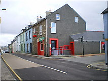 SM9537 : West Street Post Office, Fishguard by Richard Law