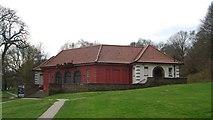 TQ5838 : The Forum, Tunbridge Wells Common by N Chadwick