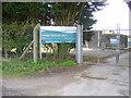 SK6995 : Sewage treatment works by steven ruffles