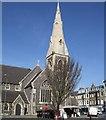 TQ2904 : St John the Baptist church - Hove by Paul Gillett