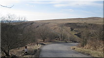 NY5083 : Steep Hairpin Bends above The Kershope Burn by Andy Connor