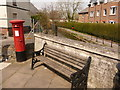 SY6990 : Dorchester: postbox № DT1 33, High East Street by Chris Downer