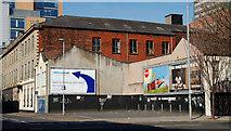 J3373 : Vacant site, Belfast by Albert Bridge