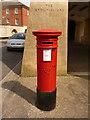 SY6790 : Poundbury: postbox № DT1 214, Longmoor Street by Chris Downer