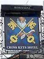 SD4981 : Sign for the Cross Keys by Maigheach-gheal