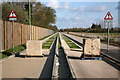 TL4263 : Car Trap, Cambridgeshire Guided Busway by Rob Noble