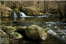 NY4020 : Falls on Aira Beck by Philip Halling