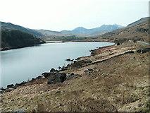 SH7157 : Llynnau Mymbyr with Snowdon in background by Raymond Knapman
