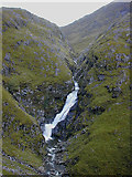NH0217 : Waterfall on the Allt Grannda by Nigel Brown
