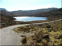 NG7655 : Loch na Creige by Dave Fergusson
