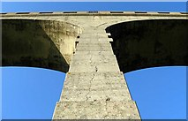 SY3192 : Cannington Viaduct detail by M Etherington