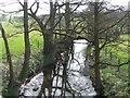 SK0138 : River Tean upstream of Hey Bridge by John M
