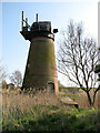 TG4400 : The disused Toft Monks drainage mill by Evelyn Simak