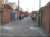 NZ3664 : Back of Lemon Street, South Shields by Alex McGregor