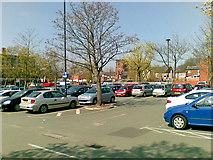 SJ8588 : Massie Street car park, Cheadle by Geoff Royle