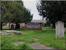 TL6706 : Garden of Rest at All Saints Church Writtle by PAUL FARMER