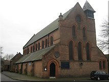 SK3436 : Saint Anne's Church, Whitecross Street and Leaper Street, Derby by Eamon Curry