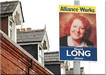 J3774 : Election posters, East Belfast 2010-4 by Albert Bridge