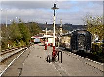 SD8022 : East Lancashire Railway: Rawtenstall Station by David Dixon
